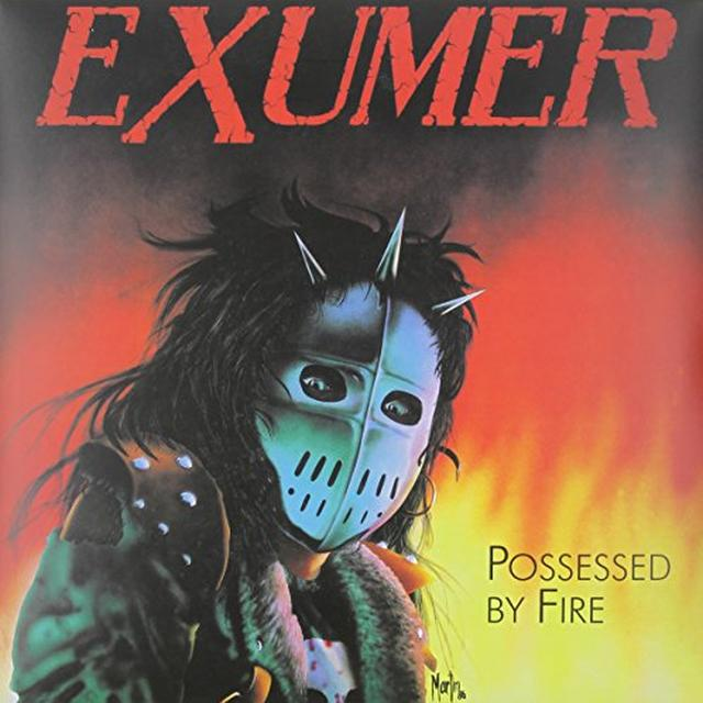 Exumer POSSESSED BY FIRE (GER) Vinyl Record