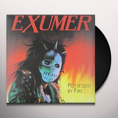 Exumer POSSESSED BY FIRE (GER) Vinyl Record