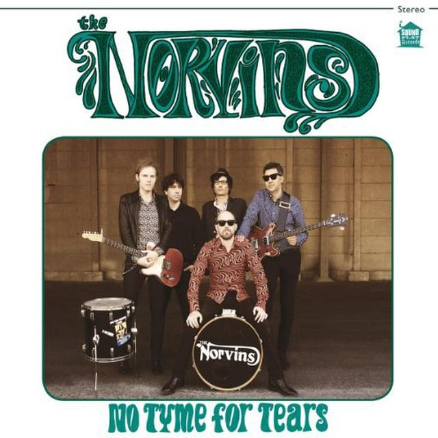 Norvins NO TYME FOR TEARS Vinyl Record - Holland Import