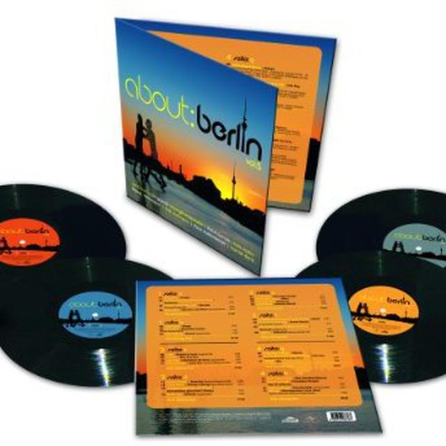 About Berlin 5 / Various (Hol) ABOUT BERLIN 5 / VARIOUS Vinyl Record - Holland Import