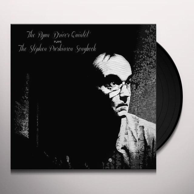 Ryan Quintet Driver PLAYS THE STEPHEN PARKINSON SONGBOOK Vinyl Record - Holland Release