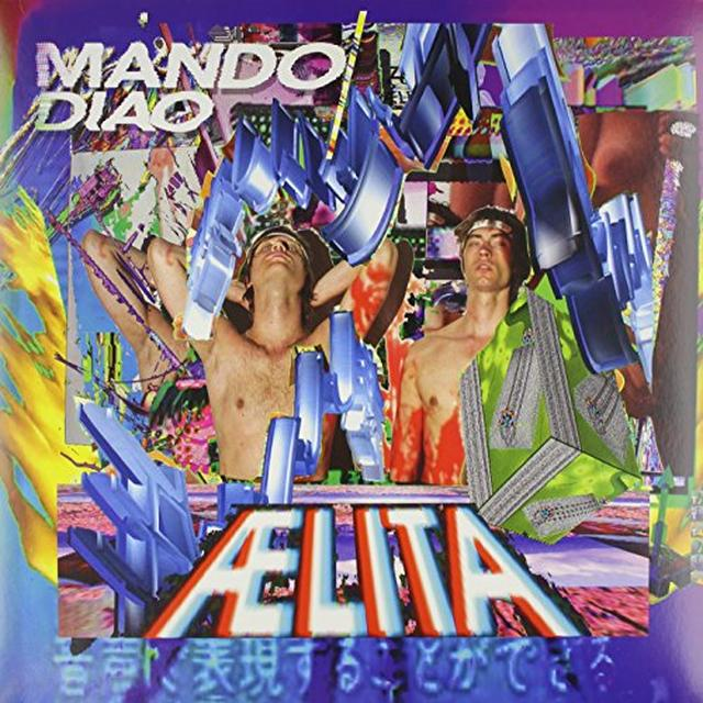 Mando Diao AELITA Vinyl Record - Holland Import