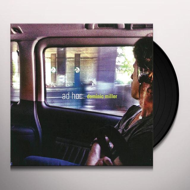 Dominic Miller AD HOC (GER) Vinyl Record