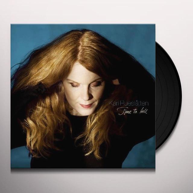 Kari Rueslatten TIME TO TELL Vinyl Record - UK Import