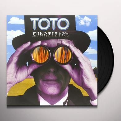 Toto MINDFIELDS Vinyl Record - Holland Import