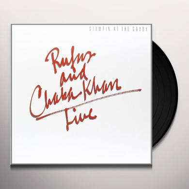 Rufus & Chaka Khan STOMPIN AT THE SAVOY Vinyl Record - Holland Release