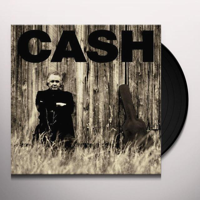 Johnny Cash AMERICAN II: UNCHAINED Vinyl Record - UK Import