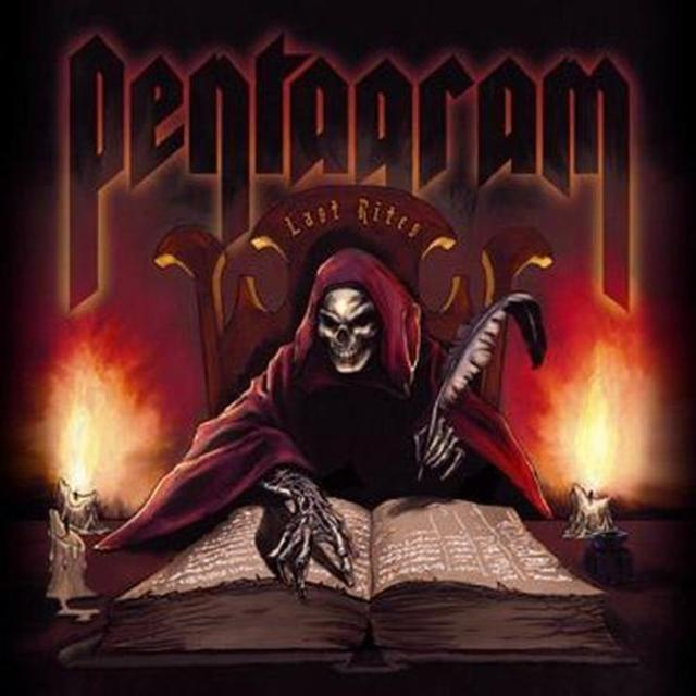 Pentagram LAST RITES Vinyl Record - UK Import
