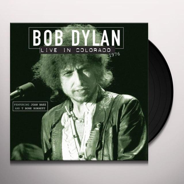 Bob Dylan LIVE IN COLORADO 1976 Vinyl Record - Holland Release