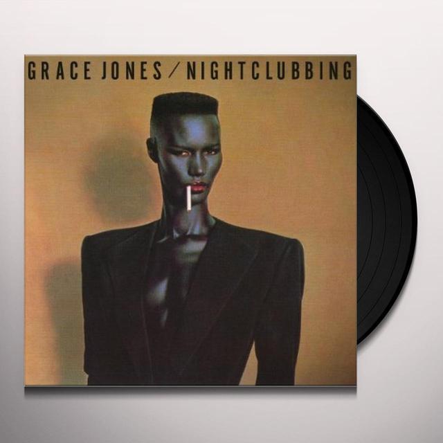 Grace Jones NIGHTCLUBBING Vinyl Record - UK Import