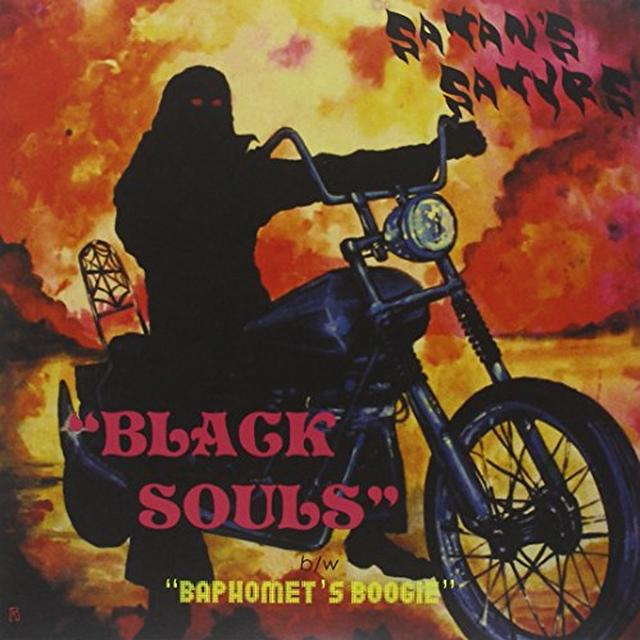 Satan'S Satyrs BLACK SOULS Vinyl Record - UK Import
