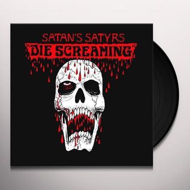 Satan'S Satyrs DIE DREAMING Vinyl Record