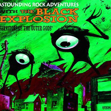 Black Explosion SERVITORS OF THE OUTER GODS Vinyl Record