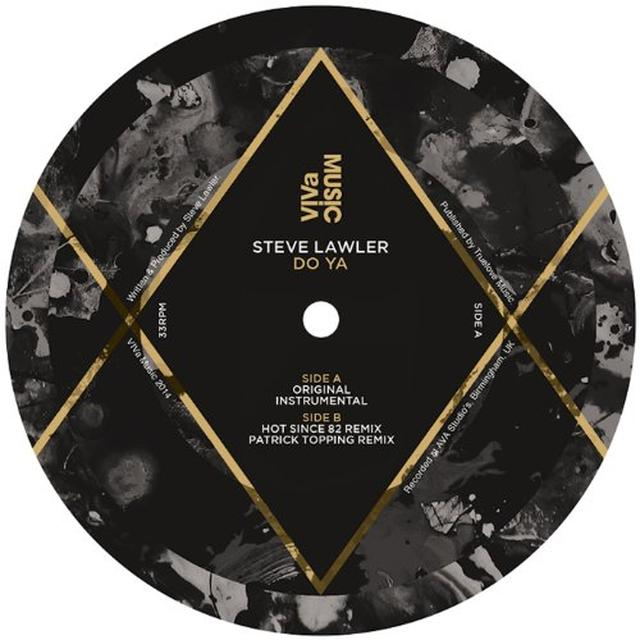 Steve Lawler DO YA Vinyl Record - UK Release