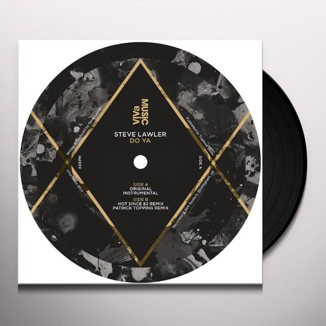 Steve Lawler DO YA Vinyl Record - UK Import