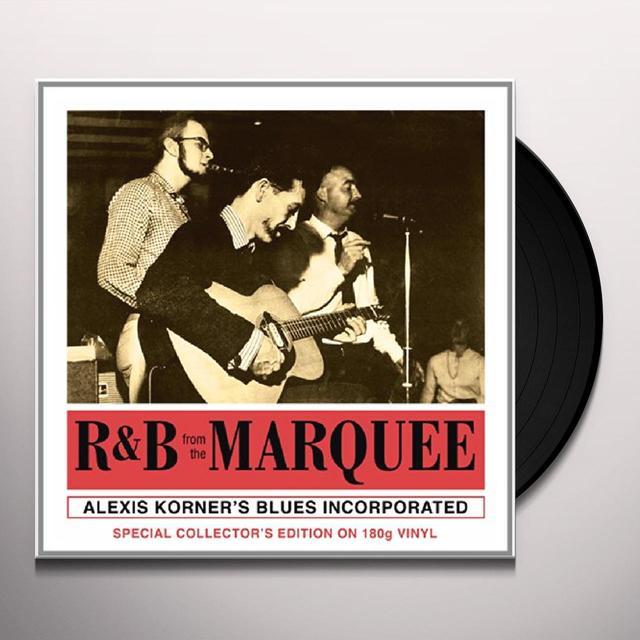 Alexis Blues Inc. Korner's R&B:MARQUEE Vinyl Record - UK Import