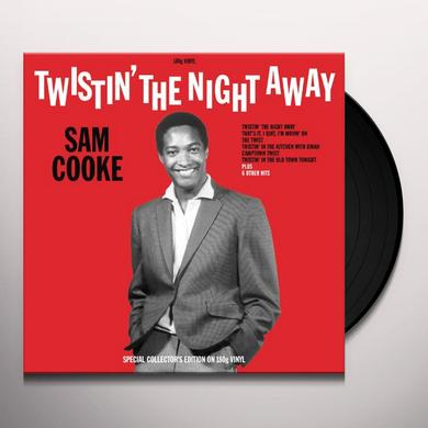Sam Cooke TWISTIN' THE NIGHT AWAY Vinyl Record - UK Import