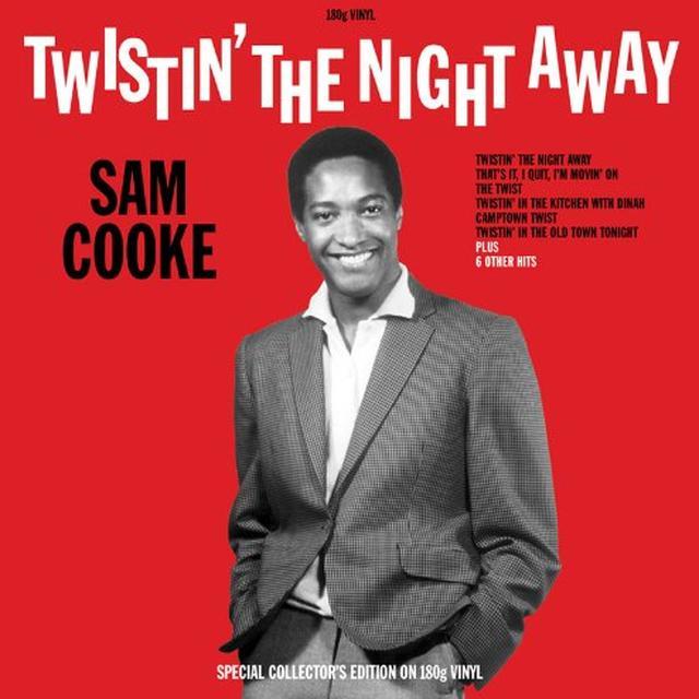Sam Cooke TWISTIN' THE NIGHT AWAY Vinyl Record - UK Import