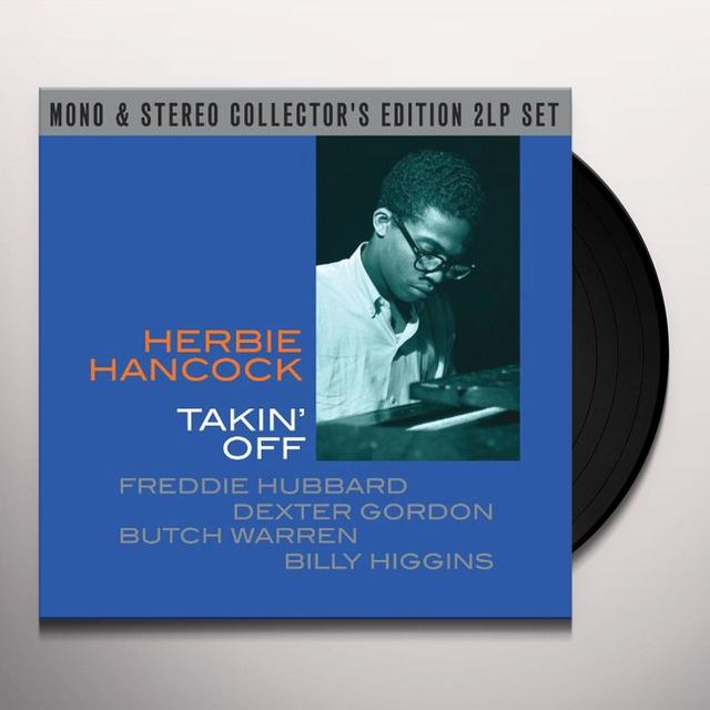 Herbie Hancock TAKE OFF MONO / STEREO Vinyl Record