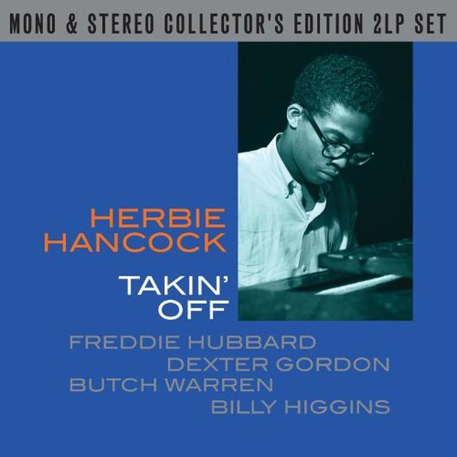 Herbie Hancock TAKE OFF MONO / STEREO Vinyl Record - UK Import