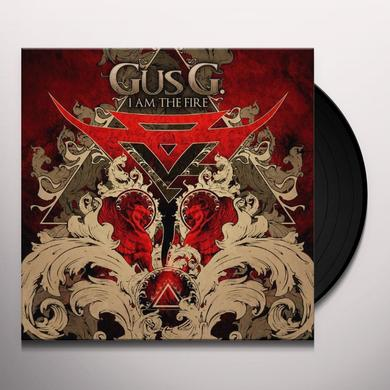 Gus G. I AM THE FIRE Vinyl Record - UK Release