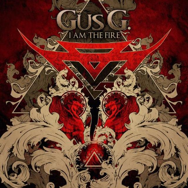 Gus G. I AM THE FIRE Vinyl Record - UK Import