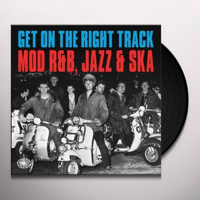 GET ON THE RIGHT TRACK: MOD R&B, JAZZ & SKA / VARI Vinyl Record