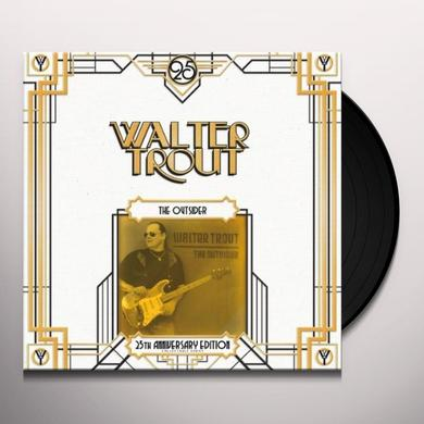 Walter Trout OUTSIDER: 25TH ANNIVERSARY SERIES Vinyl Record - UK Import