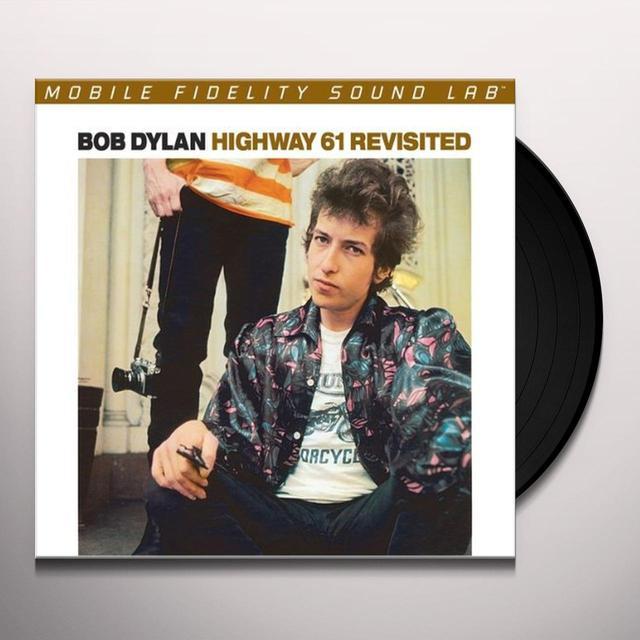 Bob Dylan HIGHWAY 61 REVISITED Vinyl Record - Limited Edition, 180 Gram Pressing