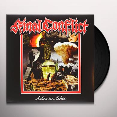 Final Conflict ASHES TO ASHES Vinyl Record