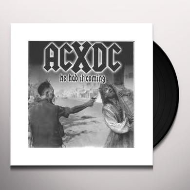 Acxdc SECOND COMING Vinyl Record
