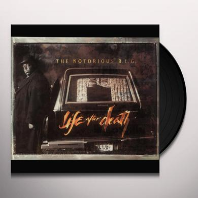 The Notorious B.I.G. LIFE AFTER DEATH Vinyl Record