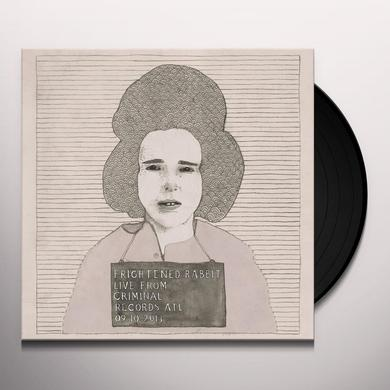Frightened Rabbit LIVE FROM CRIMINAL RECORDS Vinyl Record - Digital Download Included