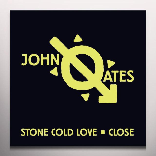 John Oates STONE COLD LOVE / CLOSE Vinyl Record - Colored Vinyl