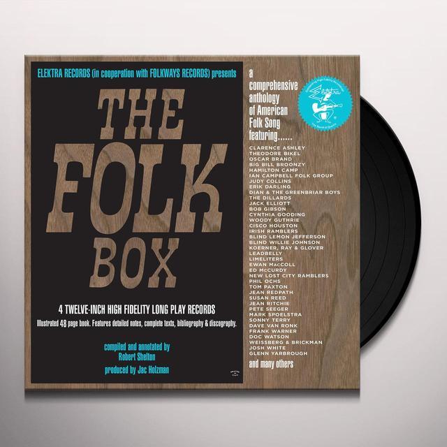 FOLK BOX 50TH ANNIVERSARY (WSV) Vinyl Record