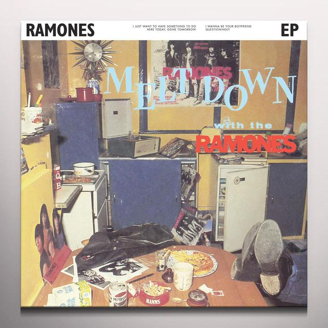 MELTDOWN WITH THE RAMONES Vinyl Record - Colored Vinyl