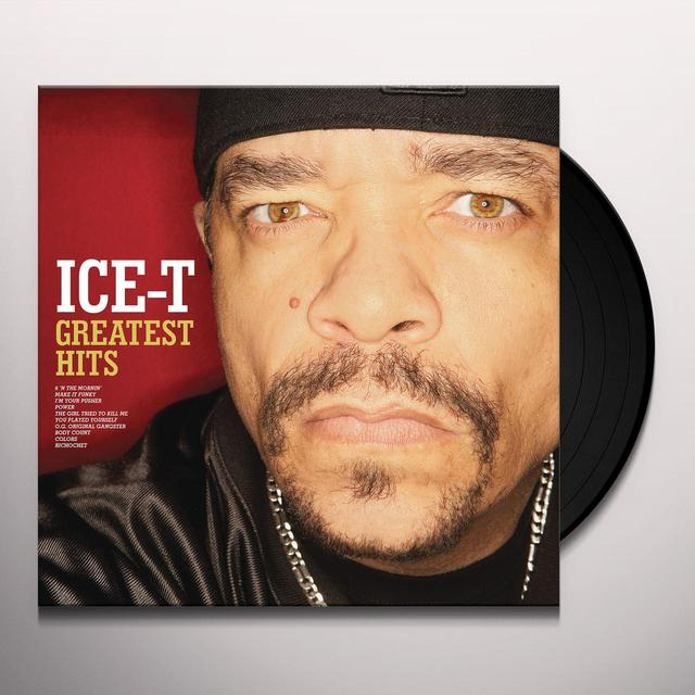 Ice T GREATEST HITS Vinyl Record