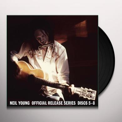 Neil Young OFFICIAL RELEASE SERIES DISCS 5-8 Vinyl Record