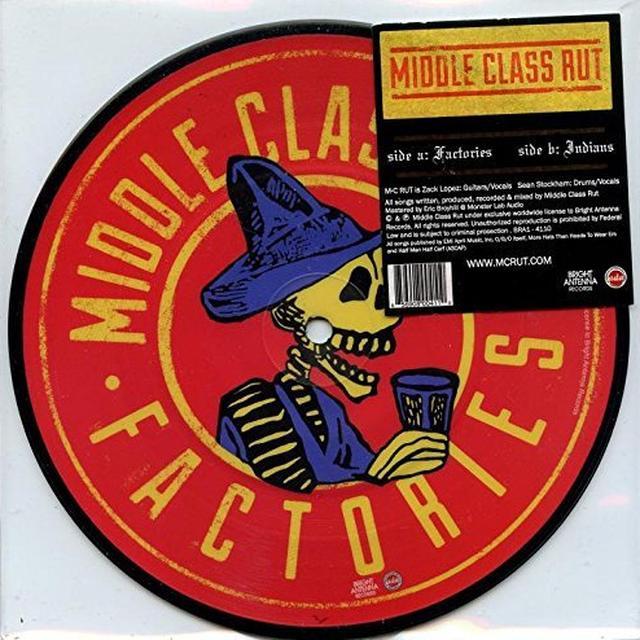Middle Class Rut FACTORIES & INDIANS Vinyl Record