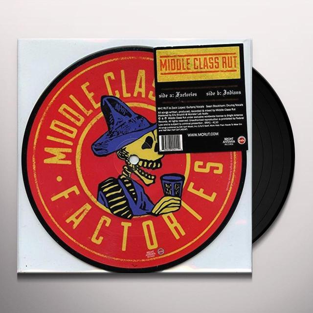 Middle Class Rut FACTORIES & INDIANS Vinyl Record