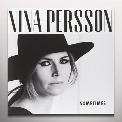 Nina Persson SOMETIMES Vinyl Record - Colored Vinyl