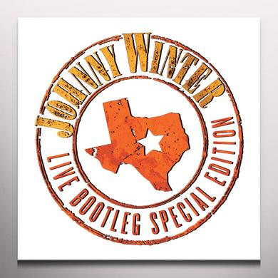 Johnny Winter LIVE BOOTLEG SPECIAL EDITION Vinyl Record - Colored Vinyl, Limited Edition, 180 Gram Pressing