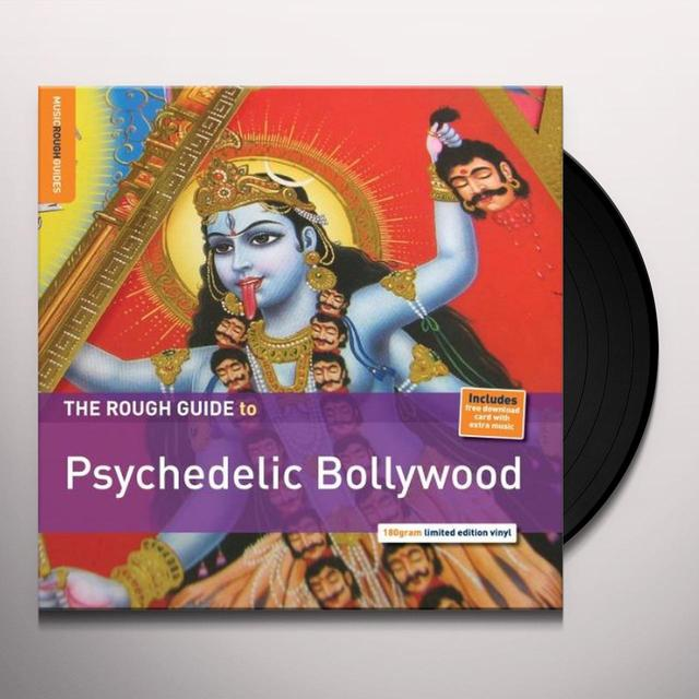 ROUGH GUIDE TO PSYCHEDELIC BOLLYWOOD / VAR (DLCD) ROUGH GUIDE TO PSYCHEDELIC BOLLYWOOD / VAR Vinyl Record