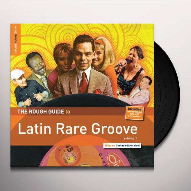 ROUGH GUIDE TO LATIN RARE GROOVE 1 / VARIOUS (OGV) ROUGH GUIDE TO LATIN RARE GROOVE 1 / VARIOUS Vinyl Record - 180 Gram Pressing