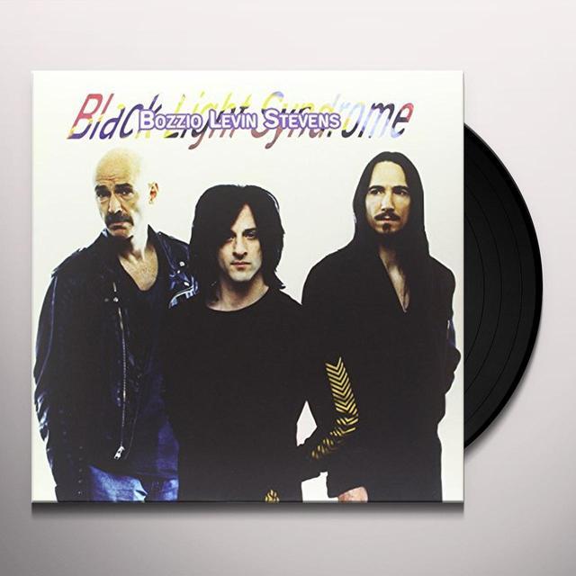 Bozzio Levin Stevens BLACK LIGHT SYNDROME Vinyl Record