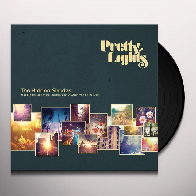 Pretty Lights HIDDEN SHADES Vinyl Record