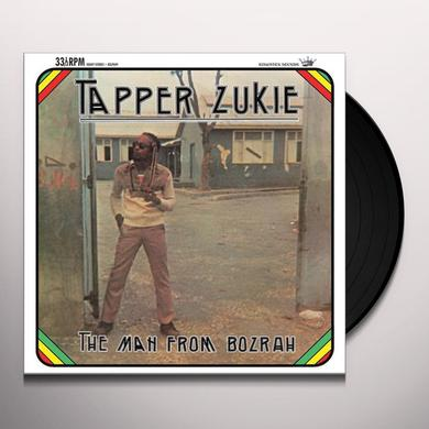 Tapper Zukie MAN FROM THE BOZRAH Vinyl Record