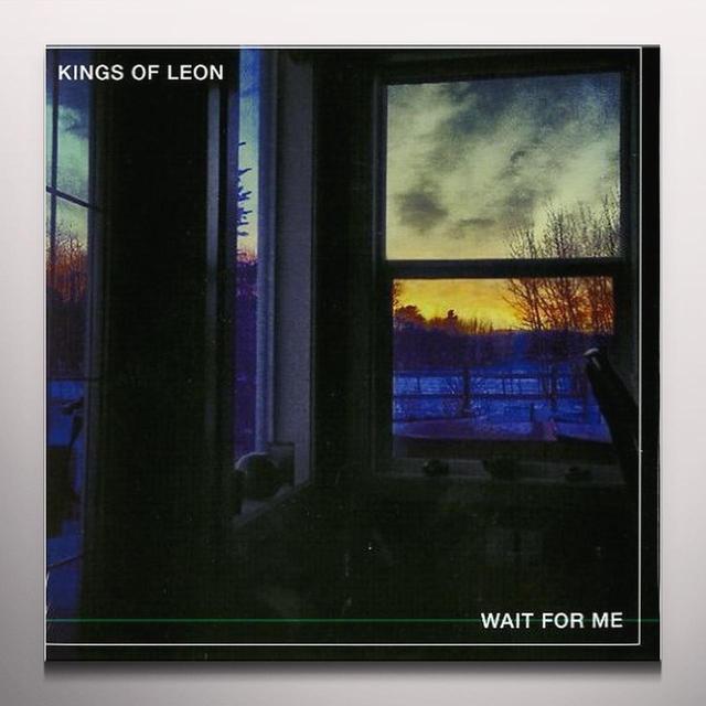 Kings Of Leon WAIT FOR ME / DONT MATTER LIVE Vinyl Record - Colored Vinyl
