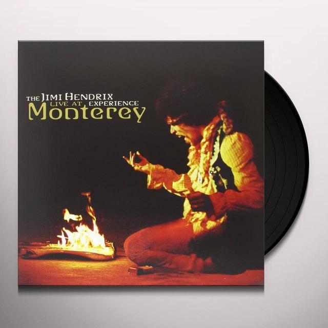 Jimi Hendrix LIVE AT MONTEREY Vinyl Record - 200 Gram Edition