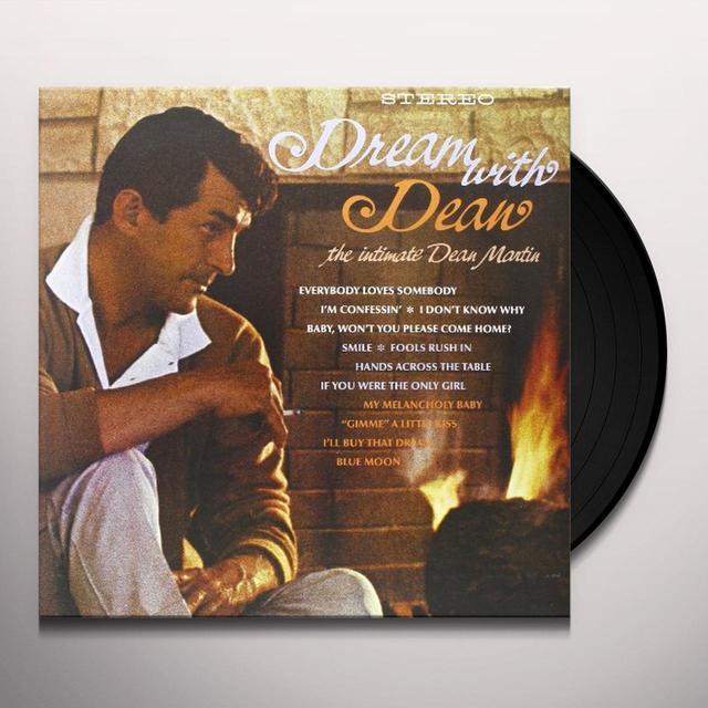Dean Martin DREAM WITH DEAN Vinyl Record